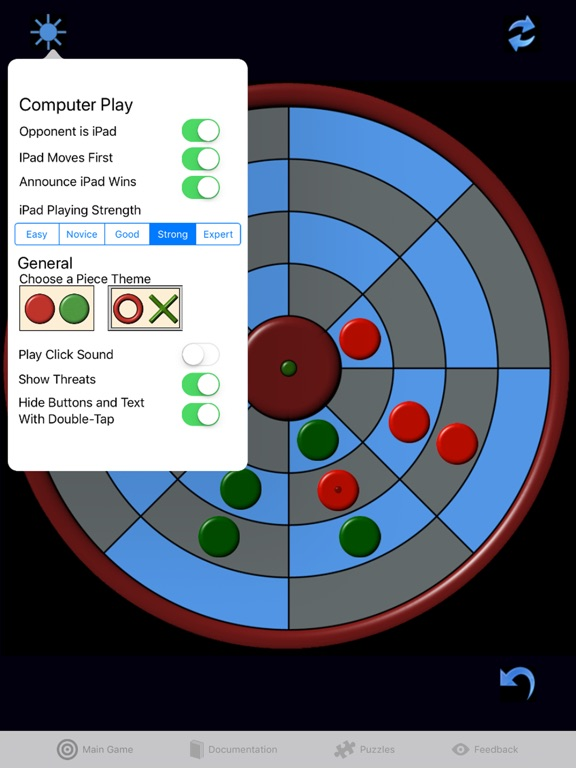 Screenshot #4 for Circular Connect Four