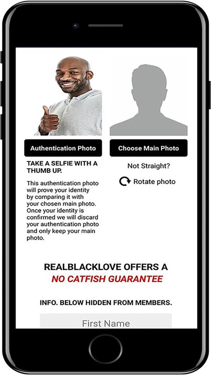 RealBlackLove Black Dating App