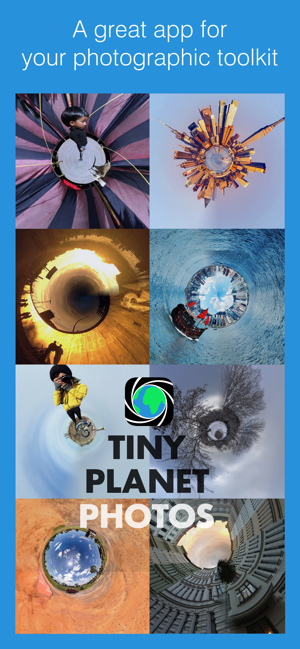 ‎Tiny Planet Photos and Video Screenshot