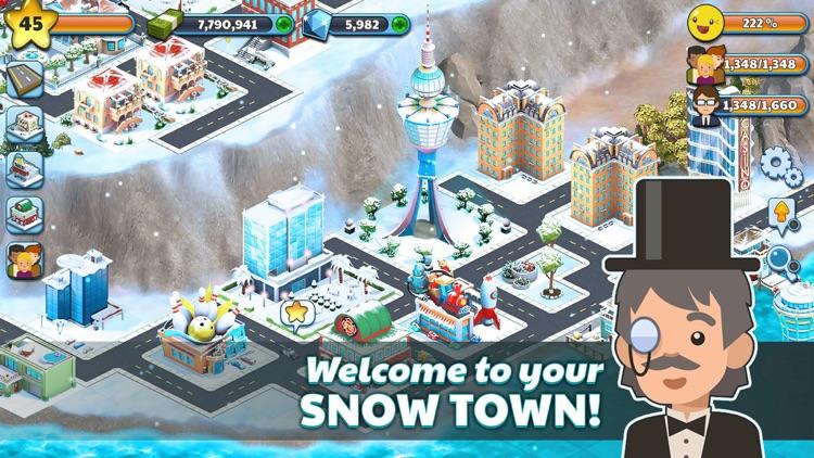 Snow Town - Ice Village World