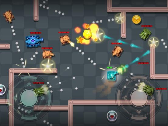 Tanks Fire Up:pocket wars hero-ipad-1