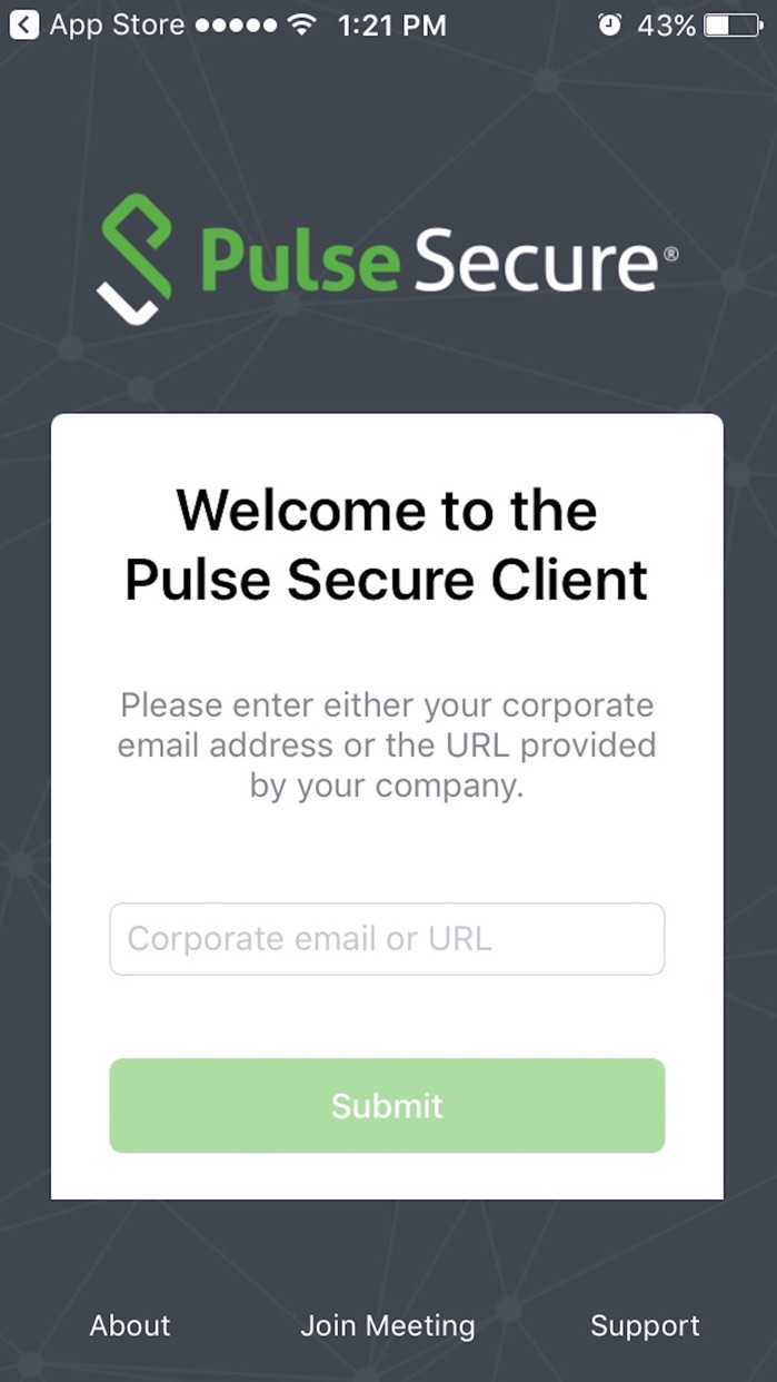 Pulse Secure Screenshot
