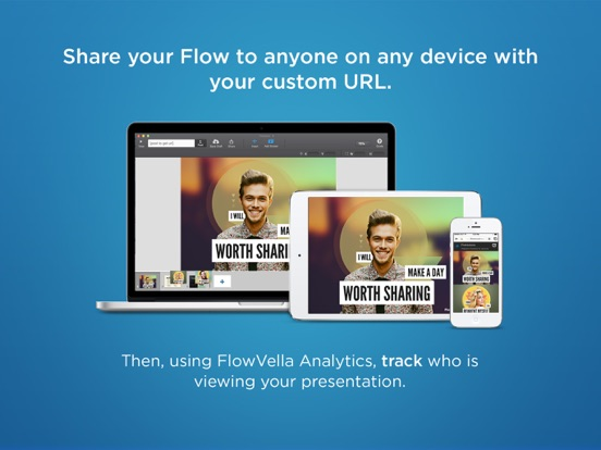 FlowVella Presentation App Screenshot