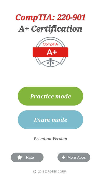 CompTIA A+ Exam (220-901) screenshot-0