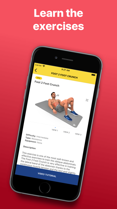 Abs Workout - Daily Fitness Screenshot