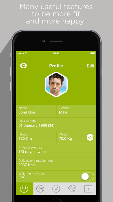Calorie Counter & Carb Manager