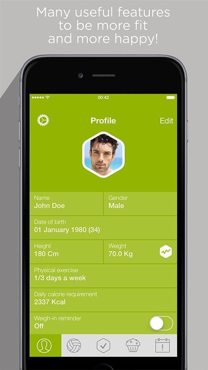 Calorie Counter & Carb Manager screenshot-4