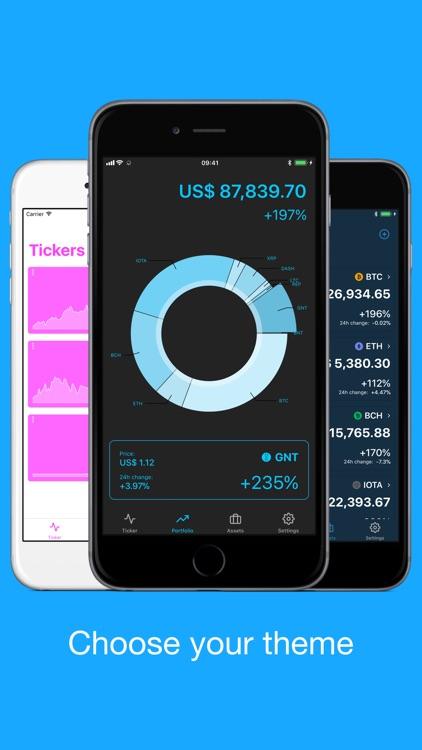 Bitfolio Crypto Portfolio screenshot-6