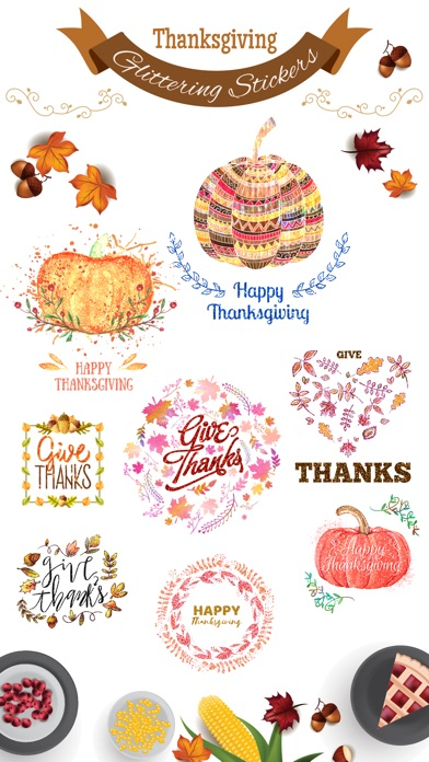 Glittering Thanksgiving screenshot 1
