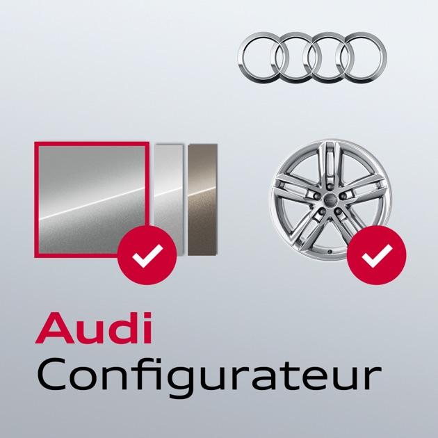 Audi Configurateur Dans L App Store