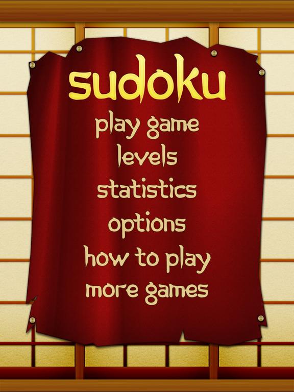 Sudoku Free HD screenshot