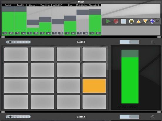 BeatPad 2 Screenshots