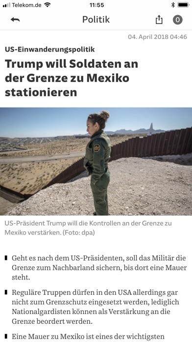 SZ.de Nachrichten SZ Скриншоты5