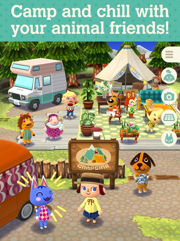 Animal Crossing: Pocket Camp для iPad