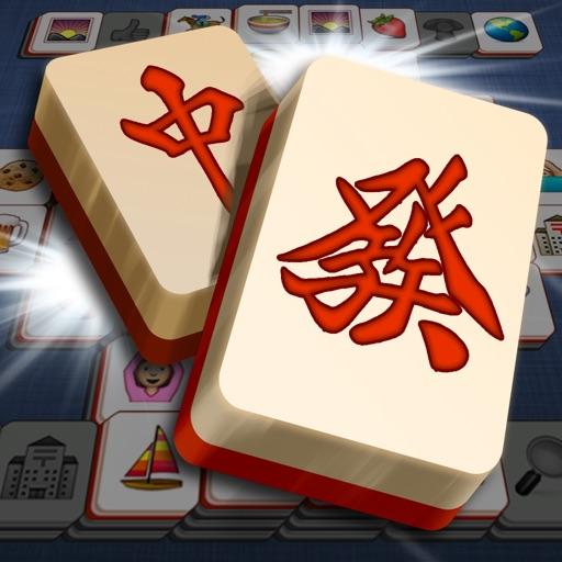 Addictive Mahjong Emoji iOS App