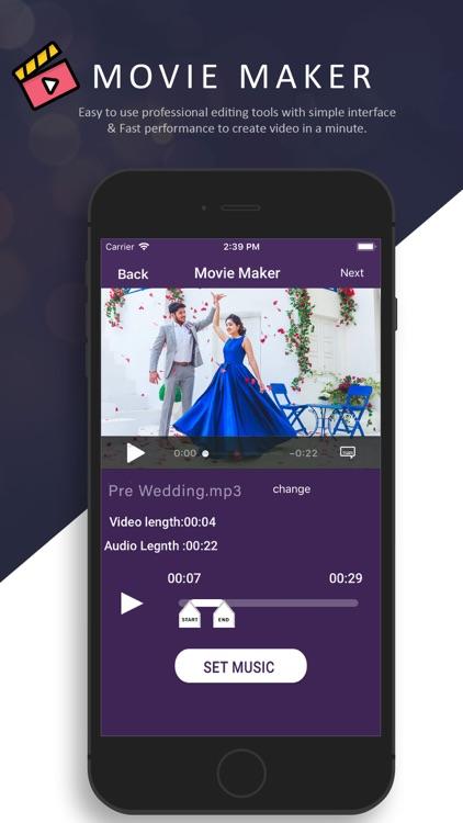 Movie Maker With Music screenshot-3