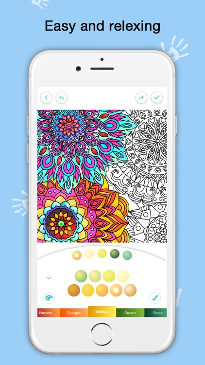 Color Flow  - A Coloring Book screenshot-3