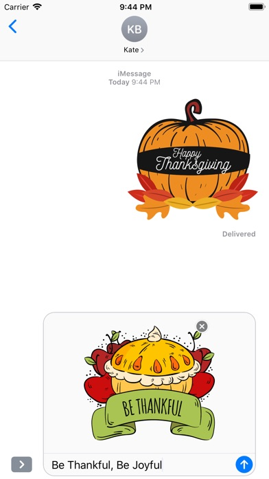 Happy Thanksgiving Day Sticker screenshot 5