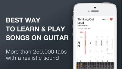 Tab Pro Multitrack Guitar Tabs app image
