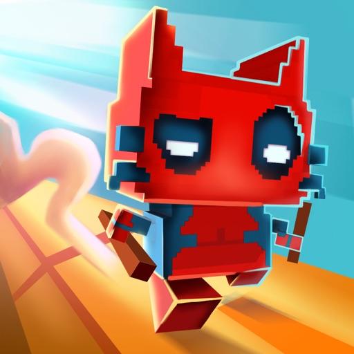 Pixel Hero Cat - Helix road