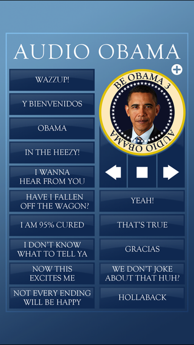 Audio Obama - soundboardのおすすめ画像1