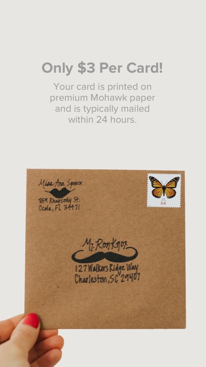Felt: Greeting, Birthday Cards