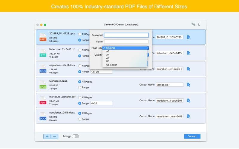 PDFCreator-Batch Create PDF Screenshots