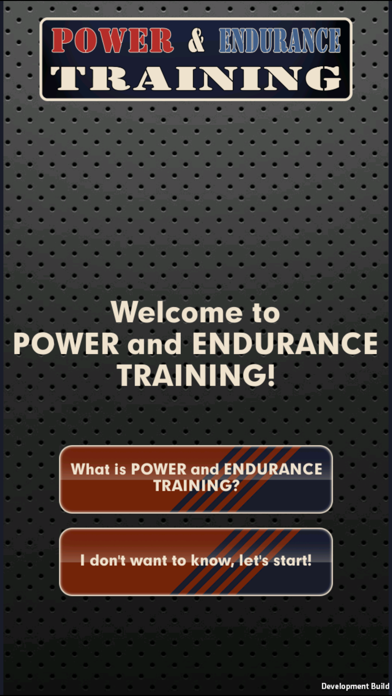 Power and Endurance TrainingScreenshot von 1