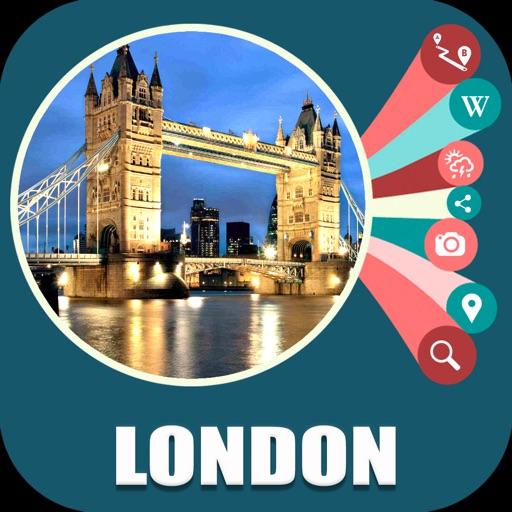 London UK Travel Map Offline