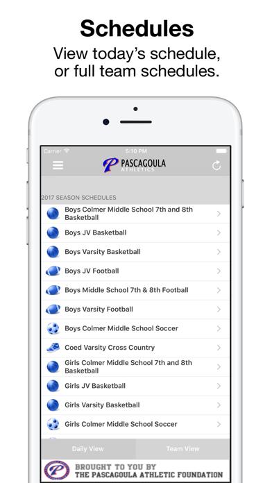 Pascagoula Athletics screenshot 4