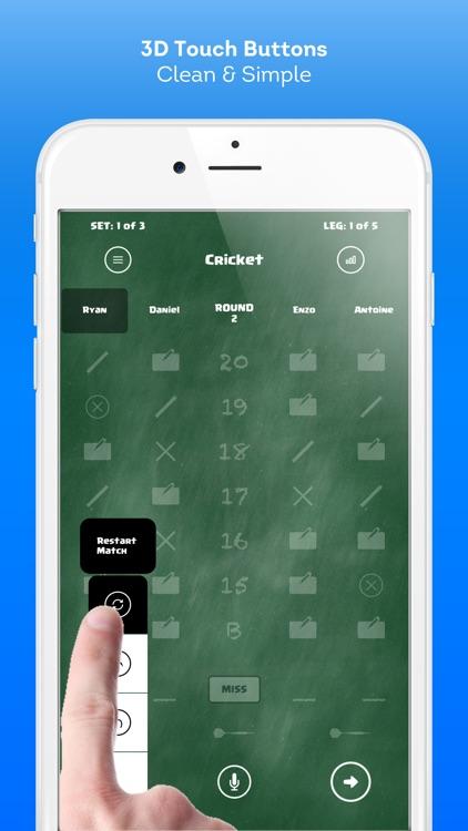 Score Darts Cricket and X01 screenshot-3