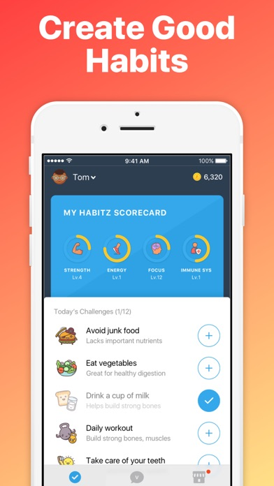 Habitz: Kids Learn Good Habits