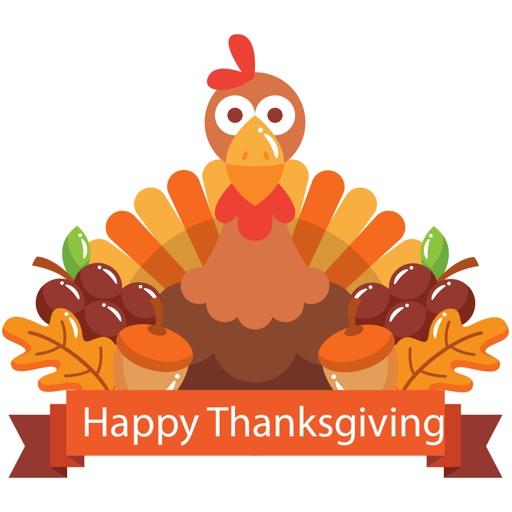Fun Thanksgiving Sticker