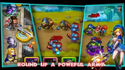 Screenshot 3 Defender Heroes:Castle Defense
