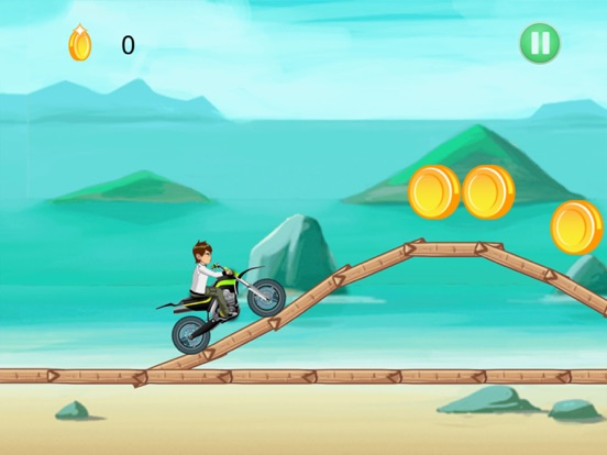 Ben Motorcycle Stunt Racing-ipad-0