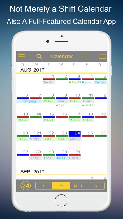FireSync Shift Calendar