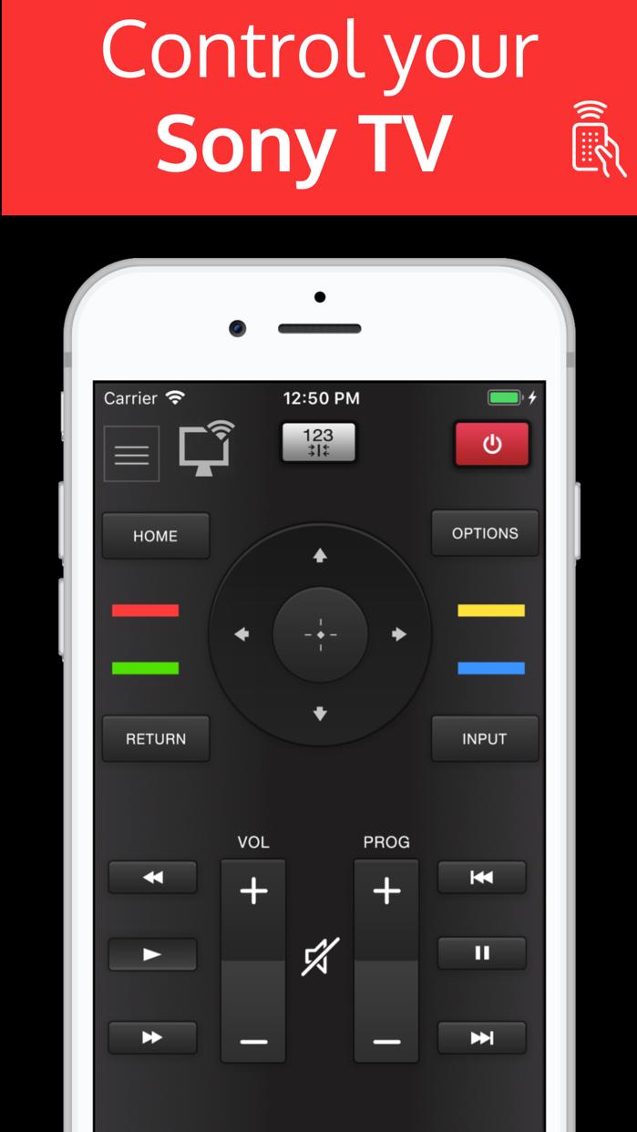 Sonymote : Remote for Sony TV Screenshot