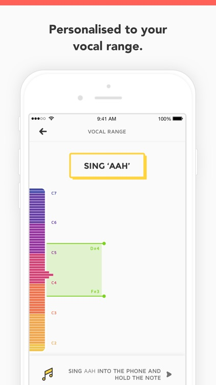 Vanido: Learn to sing screenshot-3