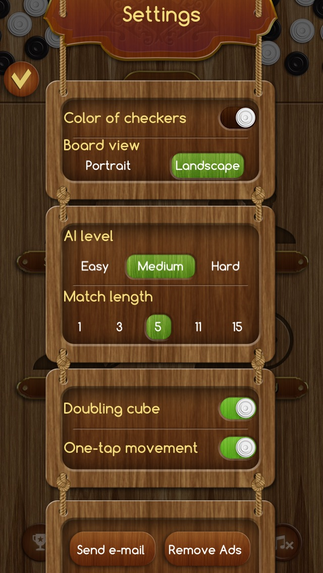 Backgammon Скриншоты7