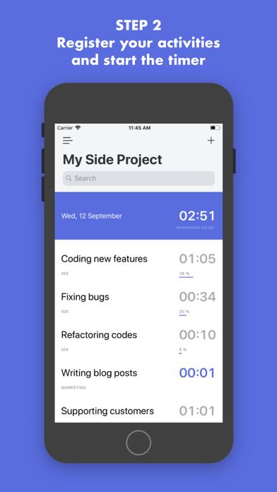 Kiamboy: Manage Side Projects screenshot two
