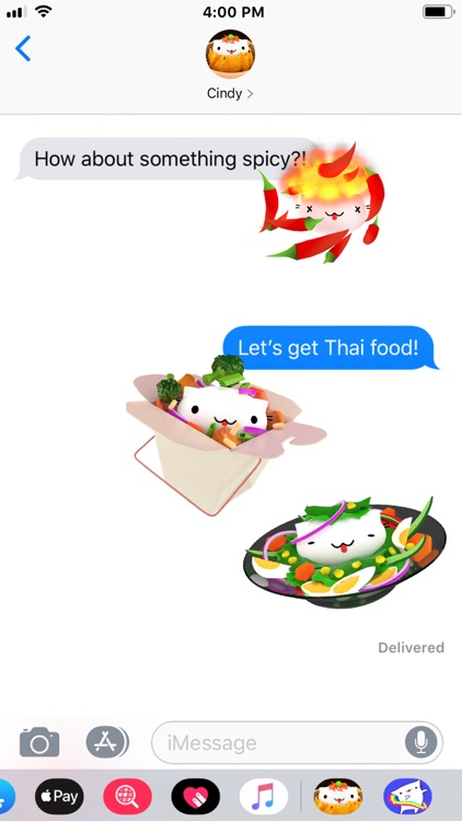 Cindy's Animated Food Stickers screenshot-4