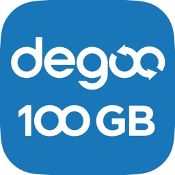 100 GB Degoo Cloud Drive