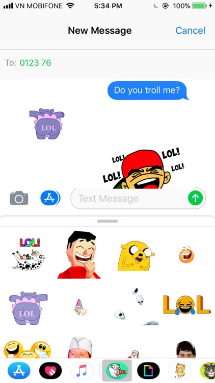 Lol animated Stickers