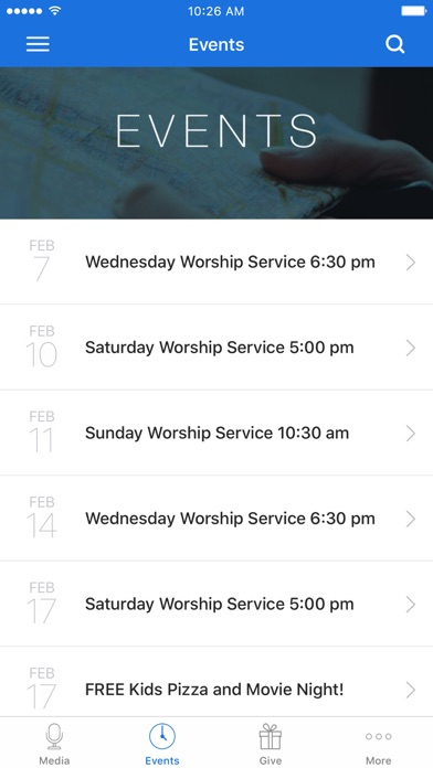 Hope Church Blaine App screenshot 2