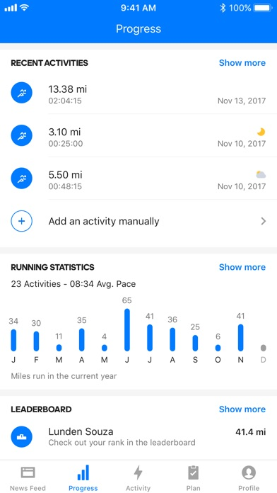 Runtastic Running Tracker PRO screenshot 2