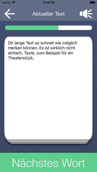 Der Auswendiglerner Screenshot on iOS