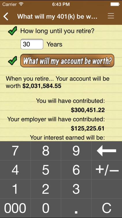 10bii Financial Calculator screenshot-4