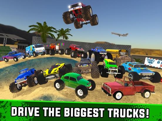Игра Monster Truck XT Airport Derby