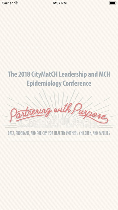 Image of 2018 CityMatCH MCH Epi Conf for iPhone