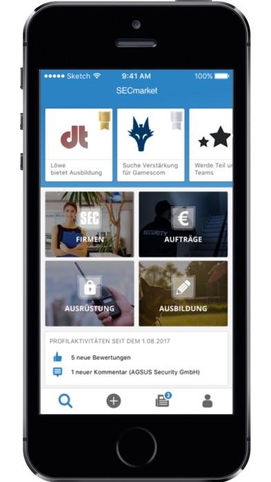 SECmarket-BusinessScreenshot von 3